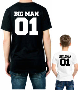 Big man and little man set
