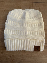 Load image into Gallery viewer, Ladies pony tail beanies - mummy range