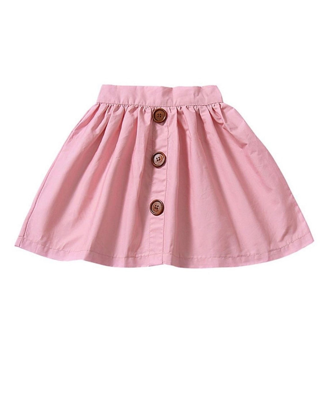 High waisted skirt- pink
