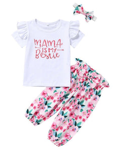 Mama is my bestie set - size 6 months