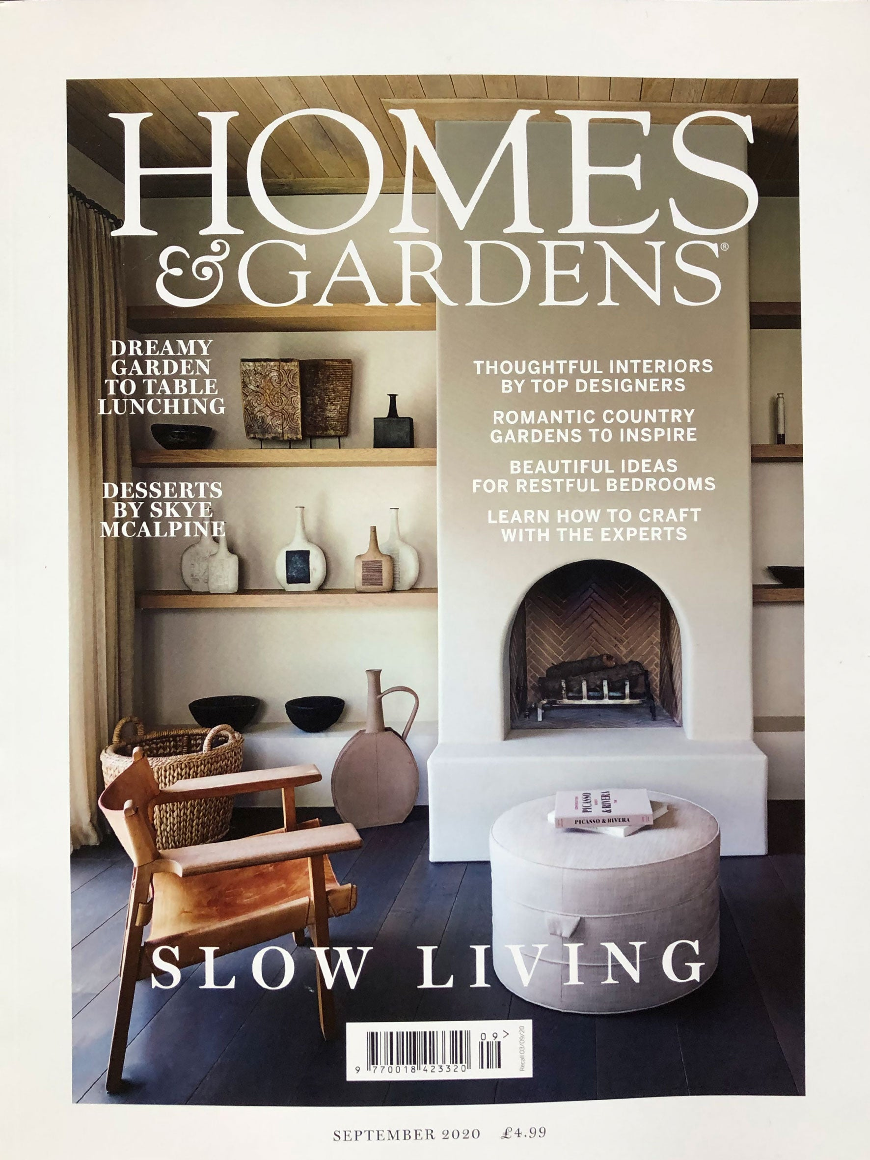Homes and Garden Magazine Cover