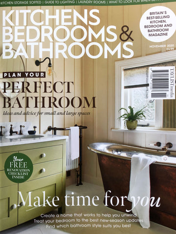 Kitchens, Bedrooms & Bathrooms magazine cover November 2020