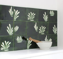 Load image into Gallery viewer, Spray hand painted tiles in Holly