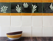 Load image into Gallery viewer, Plain glazed handmade ceramic tiles