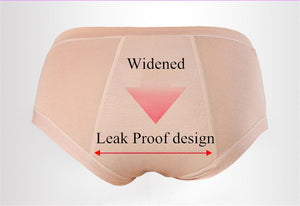 (Pack of 3) Leak-Proof Period Panties - Protective Panties