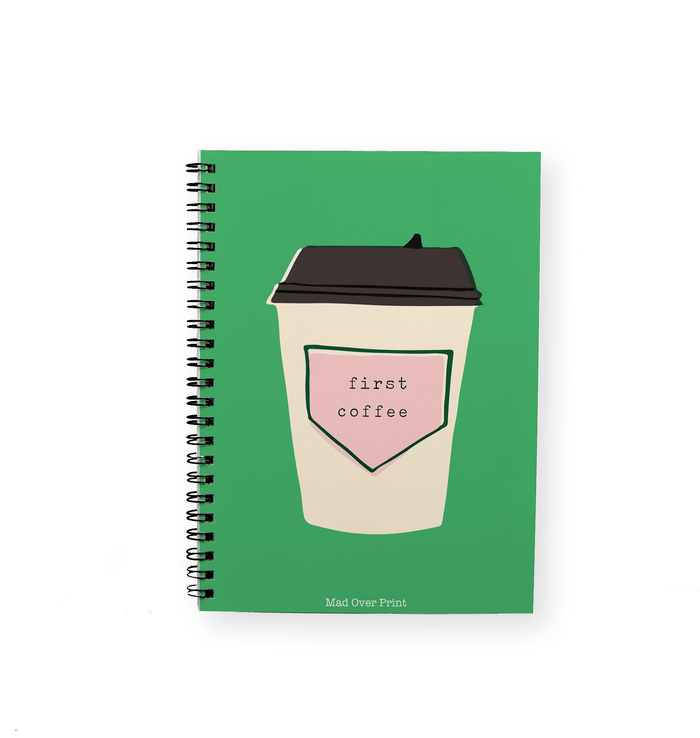 First Coffee Notepad