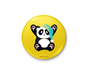 Panda Badge (Yellow)