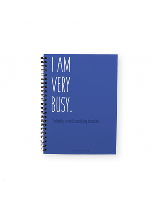 I'M Busy Notepad