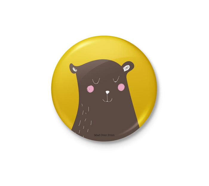 Calm Bear Badge