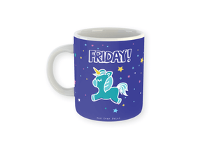 Friday Mug (Unicorn) Mug