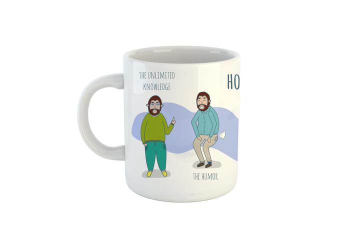 How To Dad Mug