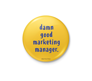 Marketing Manager Badge