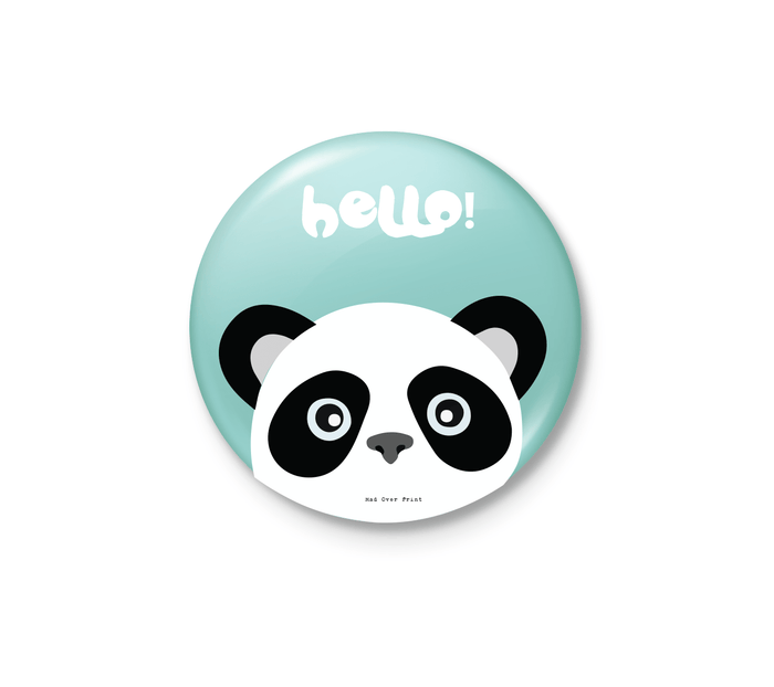 Hello (Panda) Badge