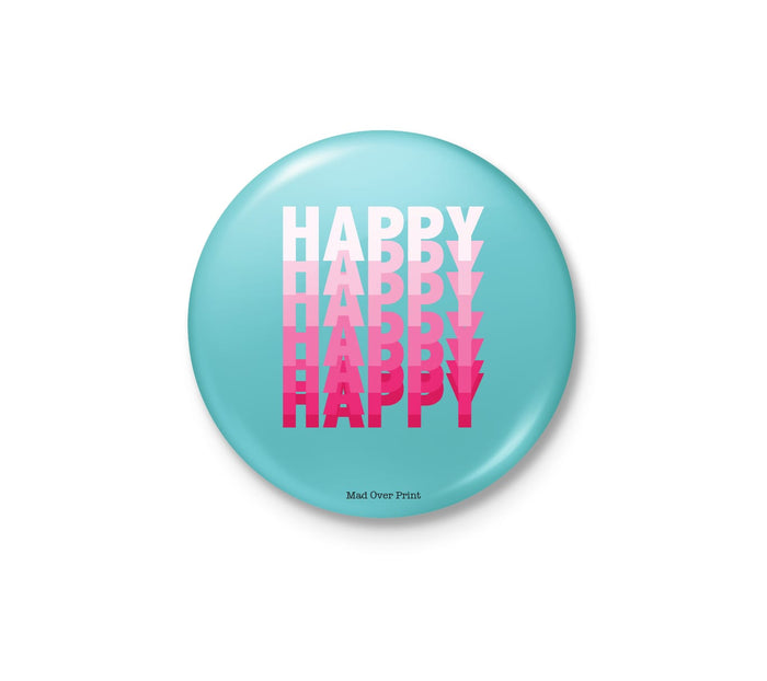 Be Happy Badge
