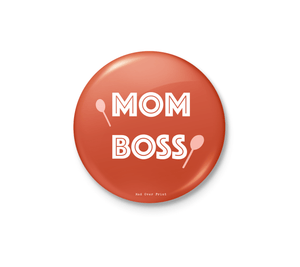 Mom Boss Badge