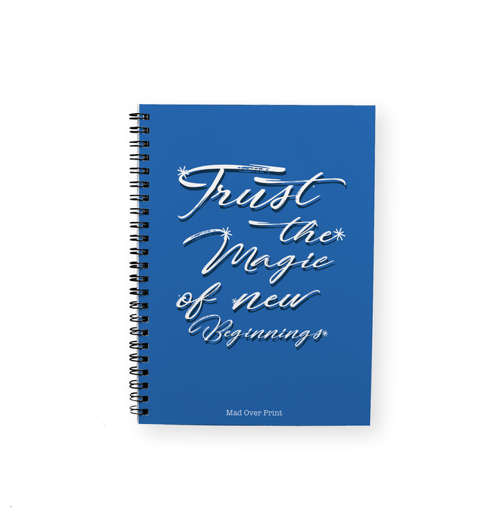 Magic Of New Beginnings Notepad