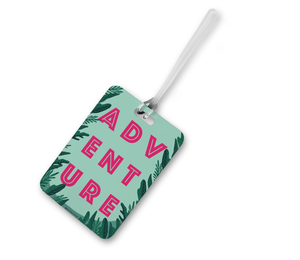Adventure Luggage Tag