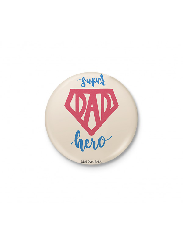 Superhero Dad Badge