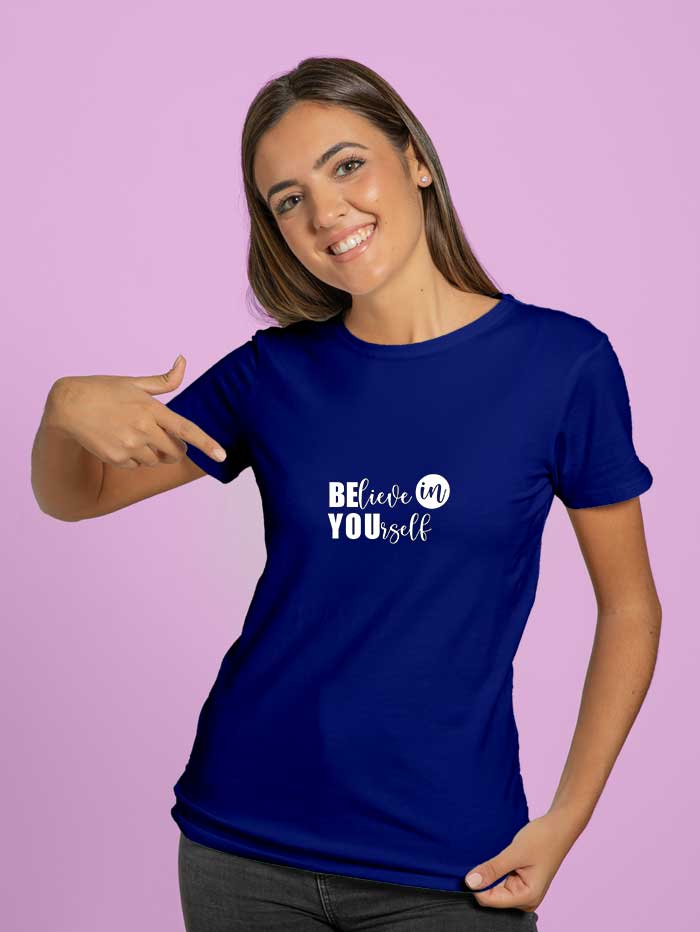 Believe-in-yourself T-shirt