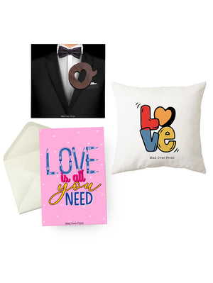Brooch-cushion-card Valentine Combo-1