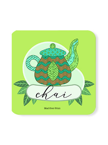 Chai-leaves Coaster