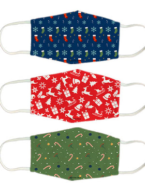 Christmas-pattern set  - Pack of 3