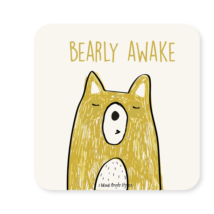 Bearly Awake Coaster