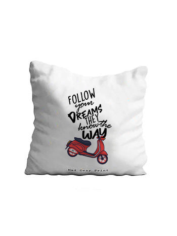 Follow-your-dreams Cushion