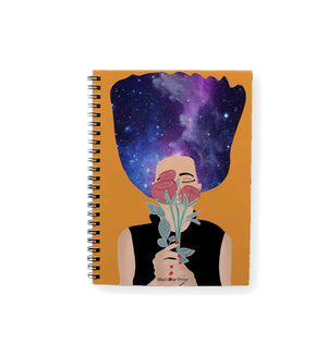 Galaxy Hair Notepad