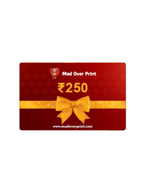 Mad Over Print Gift Card