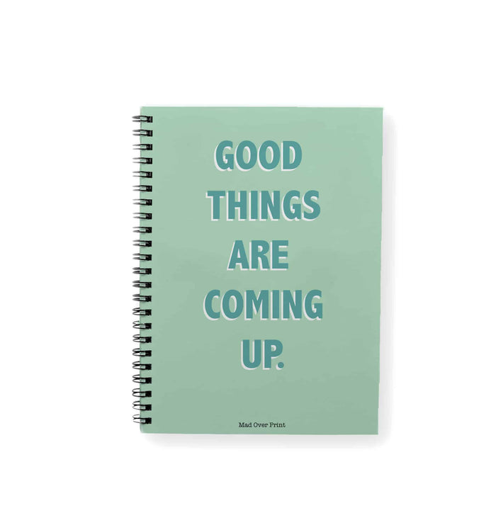 Good Things Coming Notepad
