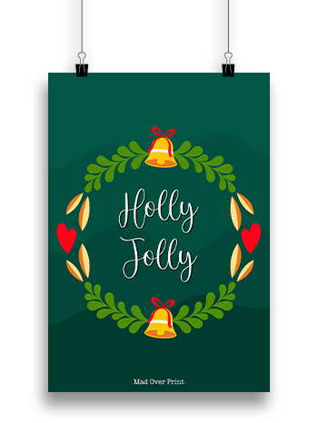 holly-jolly-Poster