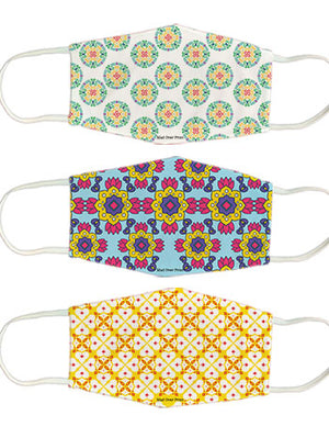 Indian-pattern set  - Pack of 3