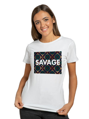 Indian-pattern-savage T-shirt (unisex)