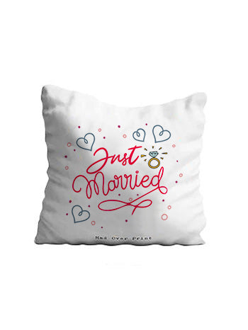 Just-Married Cushion