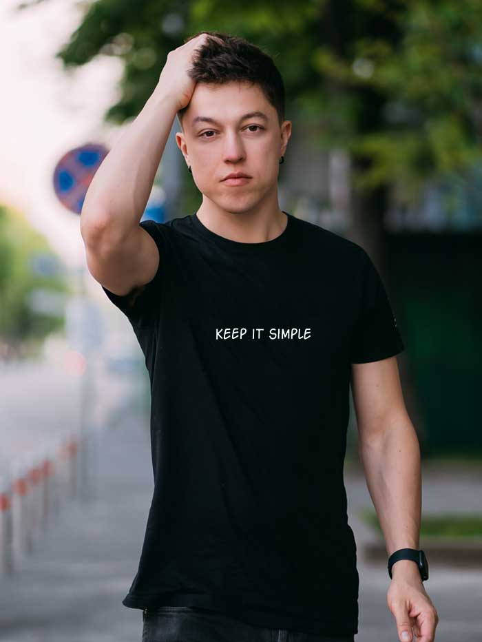 Keep It Simple T-Shirt (Men)