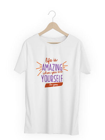 Life-is-amazing T-shirt (unisex)