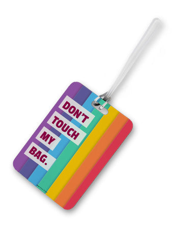 Don't Touch Luggage Tag
