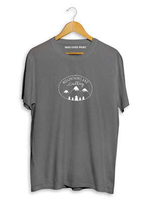 Mountains-are-calling T-shirt (unisex)
