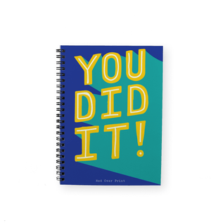 You Did It Notepad