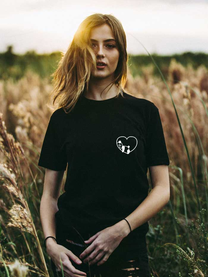 Panda-love T-shirt (Women)