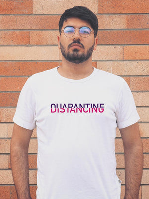 Distancing in Quarantine T-shirt (Men)
