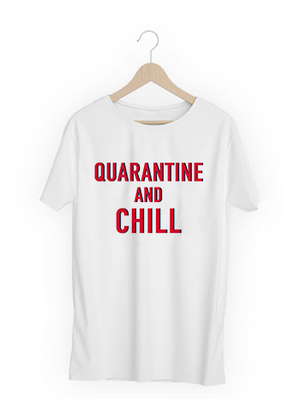 Quarantine & Chill T-Shirt - Mask Combo
