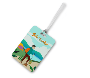 Solo Traveller Luggage Tag