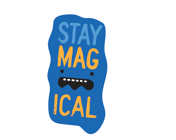 Stay Magical Sticker