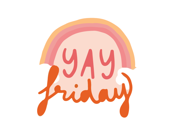 Yay Friday Sticker