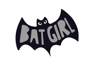 Bat Girl Sticker