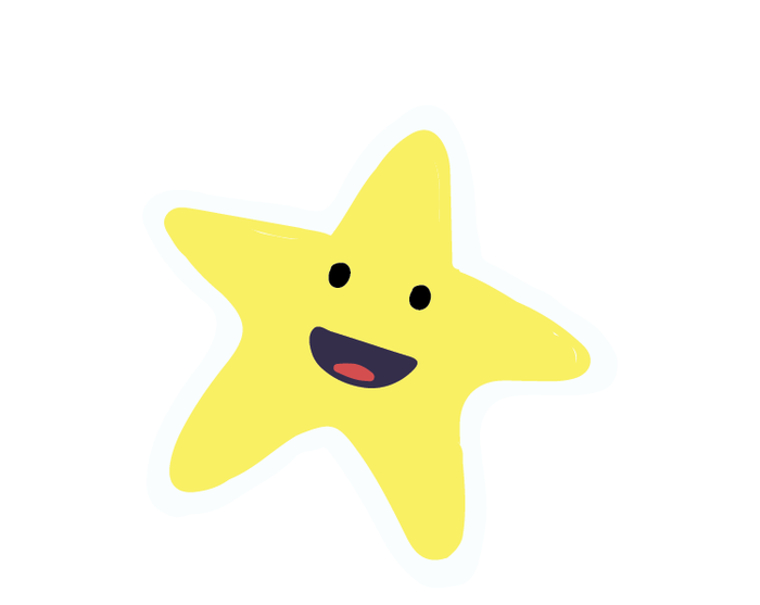 Cute Star Sticker