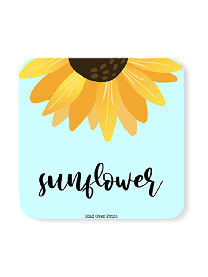 Sunflower-Coaster