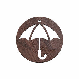 Umbrella Brooch